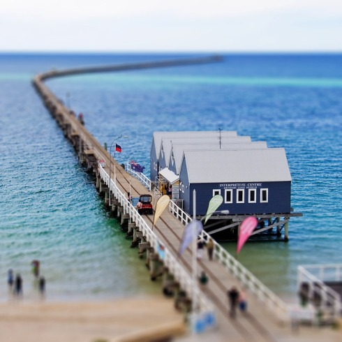 Fancy a quick stroll to the end of the Jetty? (P.S: it's the longest jetty in the Southern Hemisphere)