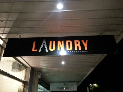Laundry in Busselton. I was going to make a joke about mixing whites and colours here, but in the end thought better of it.