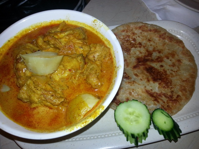 Roti Canai: Chicken Curry Bliss