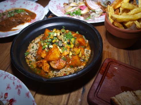 The Fish Tagine Taking Centre Stage