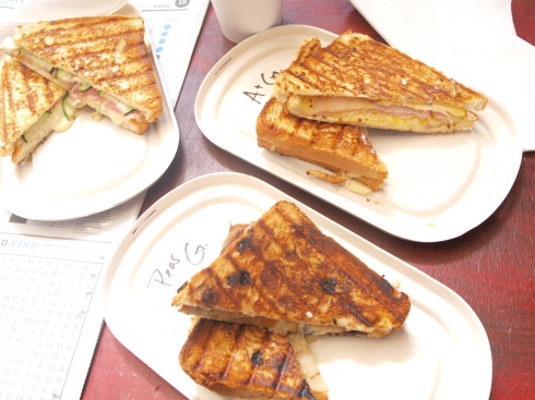 Round 1 Of Our Toastie Feast
