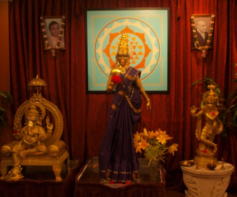 Annalakshmi, Hindu Goddess Of Plenty, Watches Over Proceedings