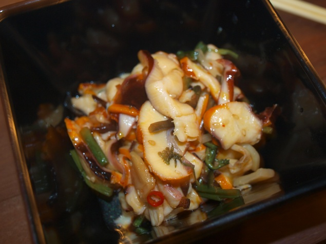 The Squid Salad: It's No Seaweed Salad, But A Very Tasty Substitute Nevertheless