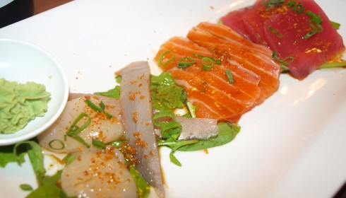 The Sashimi: Elegent, Simple Japanese Perfection On A Plate