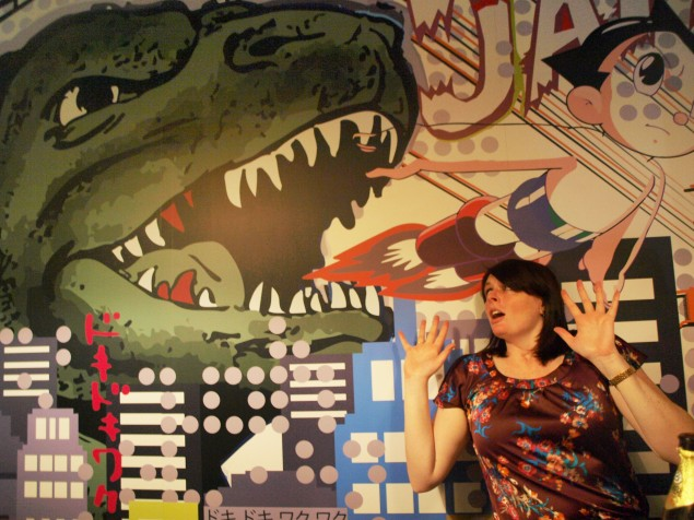 Beware Godzilla, Wall Mural Of Doom!