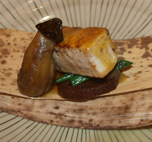 Swordfish, Eggplant and Lotus Root: A Match Made In Japanese Heaven