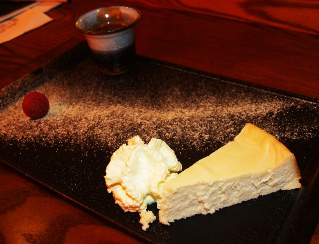 Yuzu Cheesecake and Wasabi Cream: Eat Your Heart Out Heston!