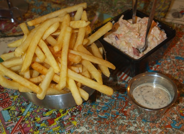 Fries, Aioli And Slaw: The Holy Trinity Of American Cuisine