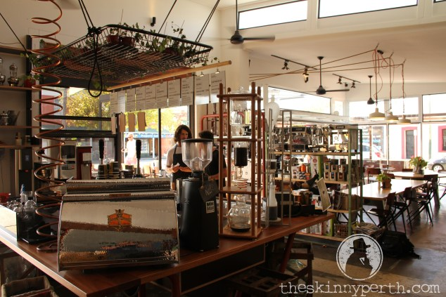 Di Bella Roasting Warehouse: Casual Decor, Serious Coffee