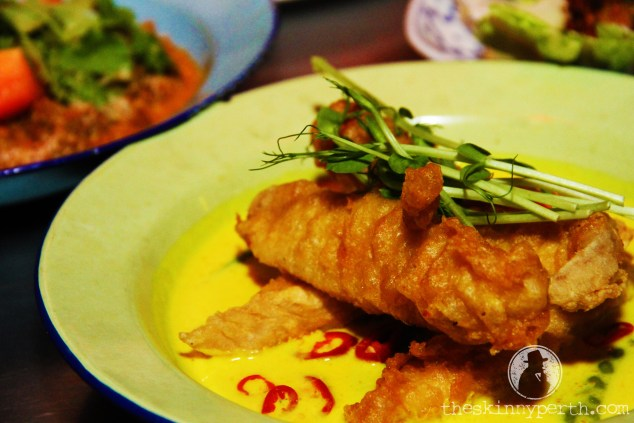 The Fried Fish Curry At Kitsch: Definitely Not Tacky Or Tasteless