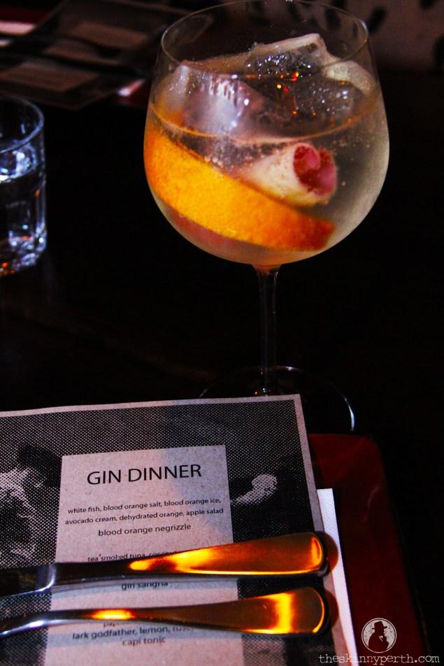 Gin Dinner 1